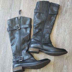 Steve Madden Shoes - Steve Madden Leather Moto 9